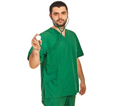 پارچه ترگال و کجراه سبز بیمارستانی آبژاول