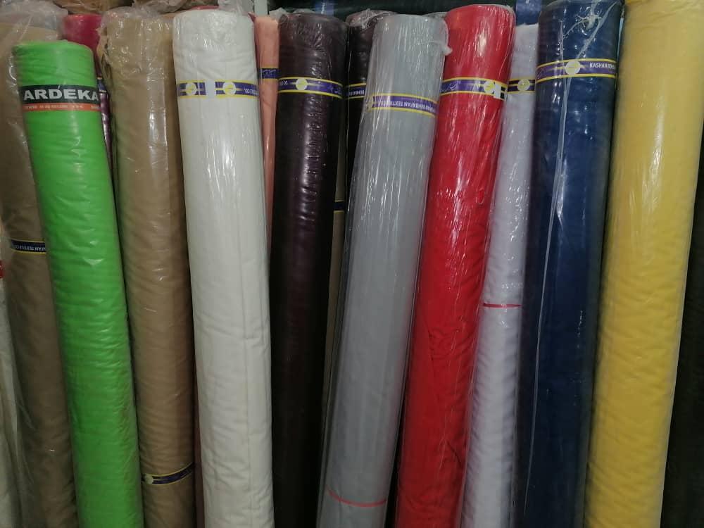 خرید پارچه تترون عرض سه متر رنگی